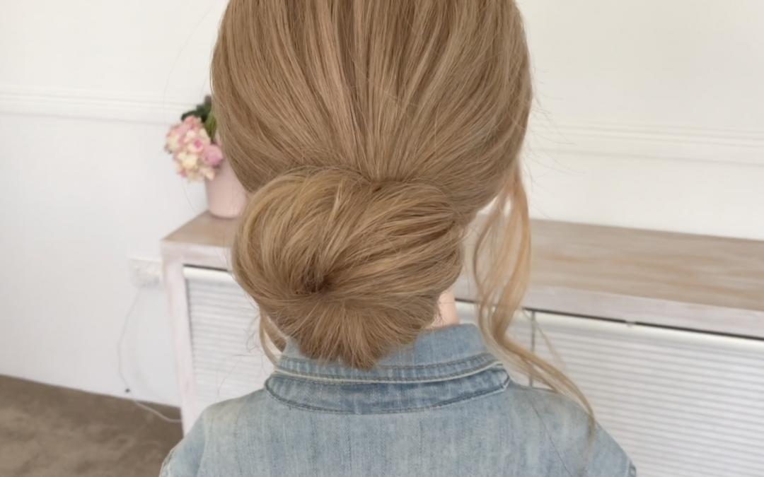 Simple Hair Bun