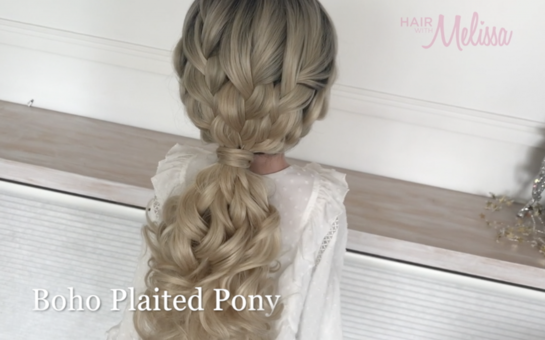 Boho Plaited Pony