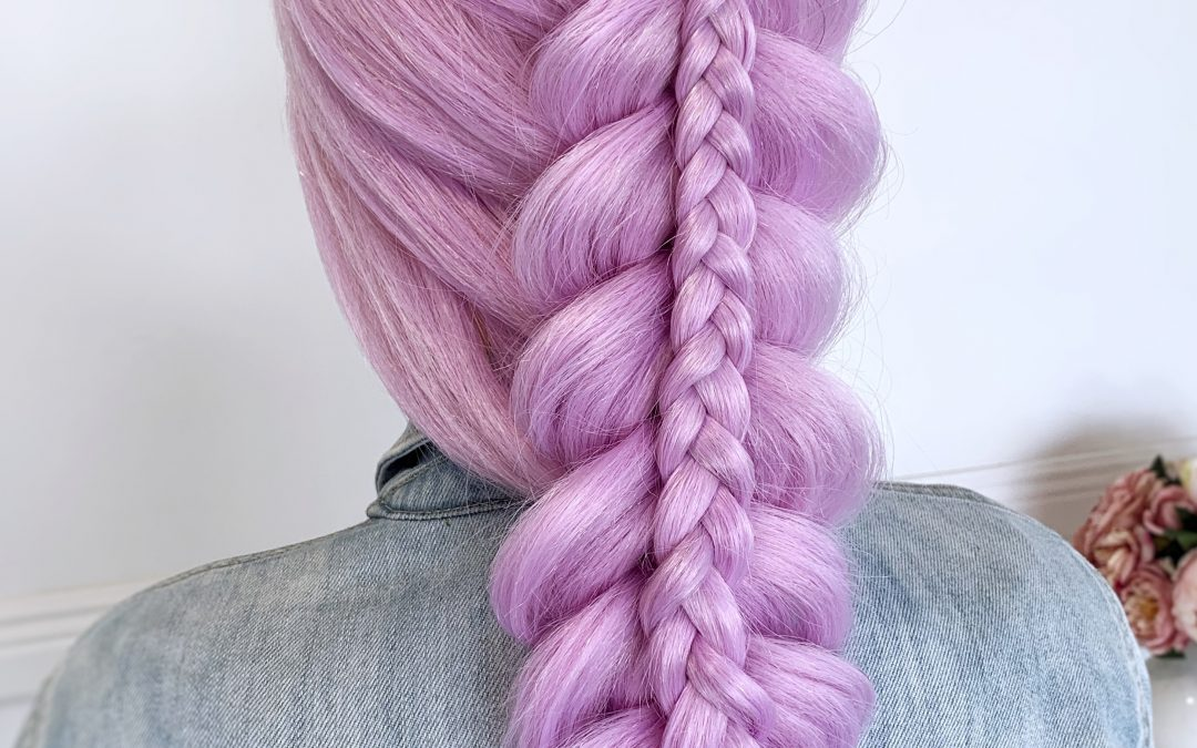 Stacked Dutch Braid