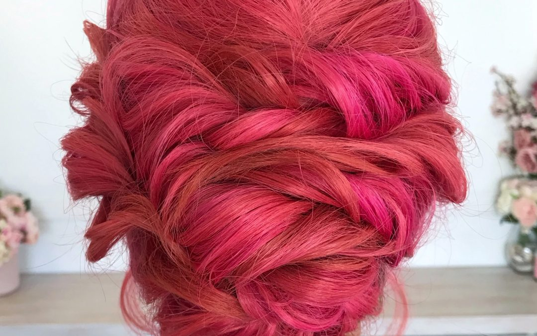 Short Twisted UPDO