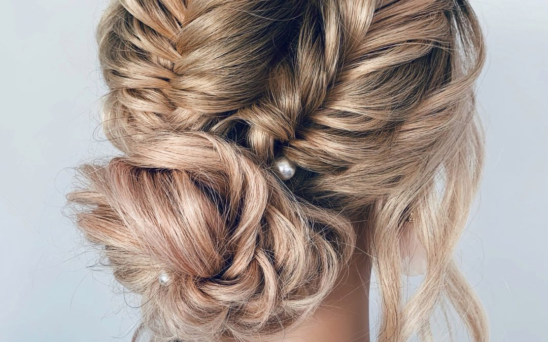 FISHTAIL BRAIDED UPDO – LIVE SESSION